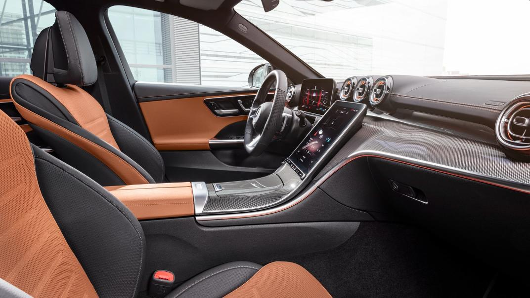2021 Mercedes-Benz C-Class W206 Upcoming Version Interior 008