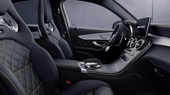 2018 Mercedes-Benz AMG GLC 300 Coupe AMG Line Interior 010