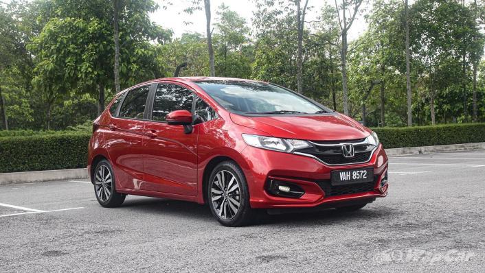 2019 Honda Jazz 1.5 V Exterior 003