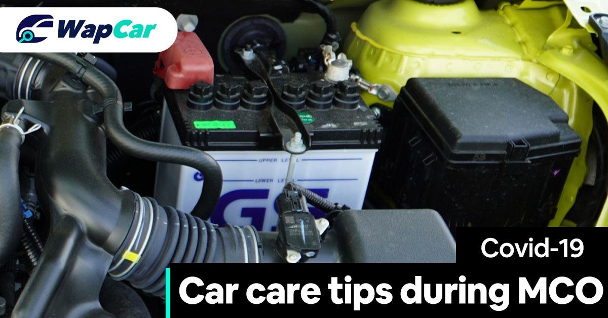 car care tips during movement control order