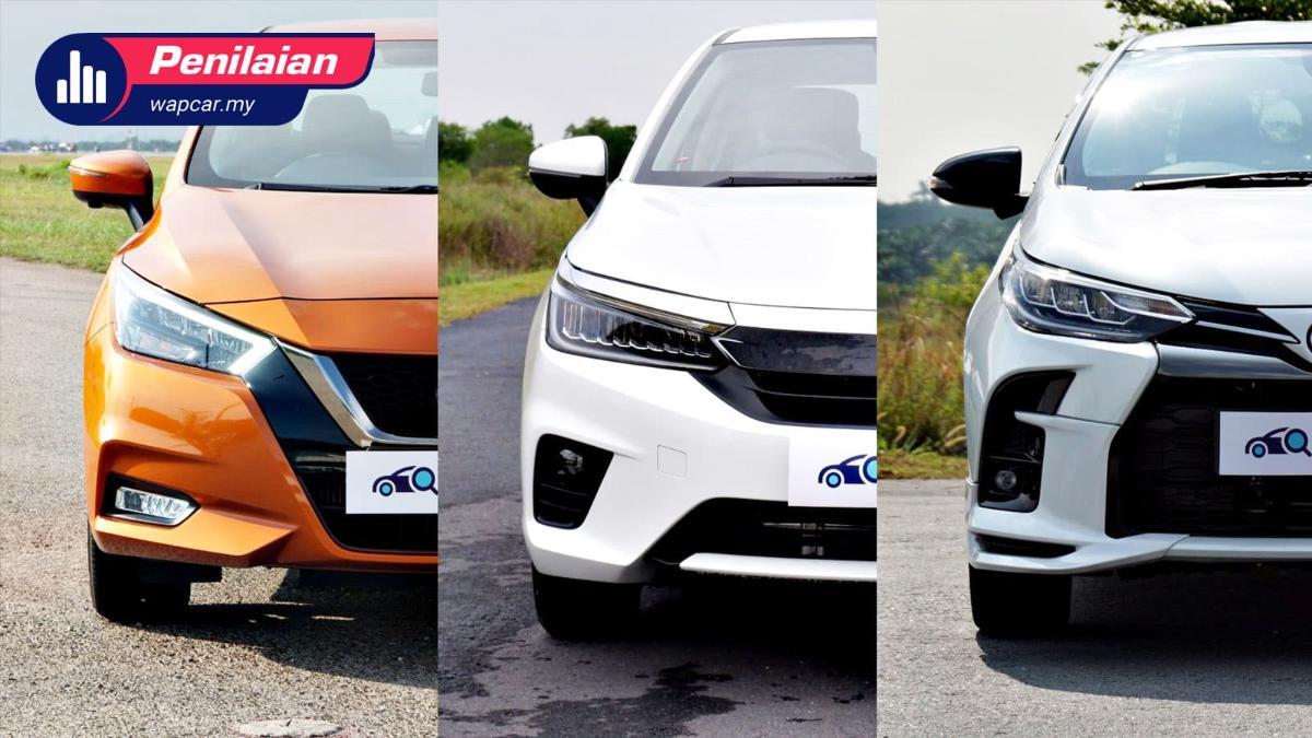 Nak beli sedan segmen B? Ini 3 pilihan terbaik kami untuk harga bawah RM 100k! 01