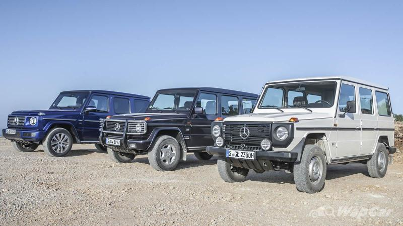400,000 Mercedes-Benz G-Class produced, electric G Wagon coming next 02