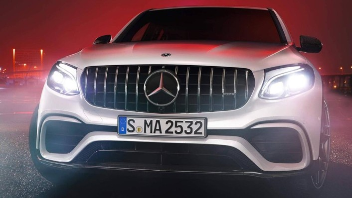 2018 Mercedes-Benz AMG GLC 300 Coupe AMG Line Exterior 004