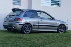This LHD Proton Satria GTi in Puerto Rico is the closest it can get to US soil