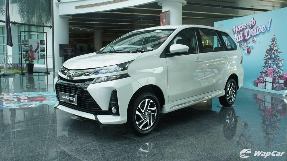 2019 Toyota Avanza 1.5S Exterior 001