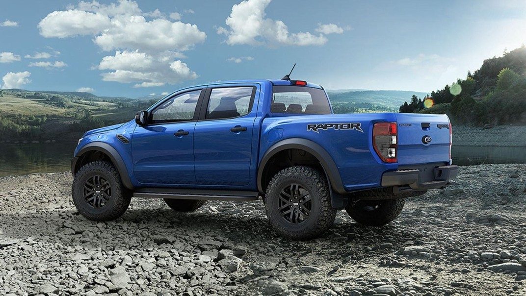 2021 Ford Ranger Raptor 2.0 Bi-Turbo Exterior 004
