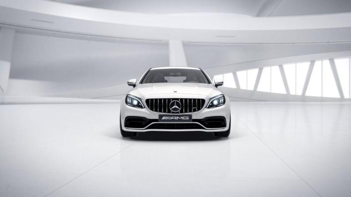 2018 Mercedes-Benz AMG C-Class Coupe C 63 S Exterior 002