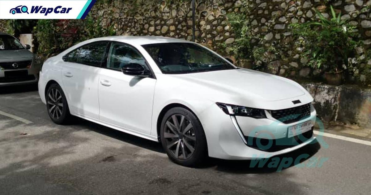 Spied: 2021 Peugeot 508 caught testing - Malaysia could be first to launch it in ASEAN 01