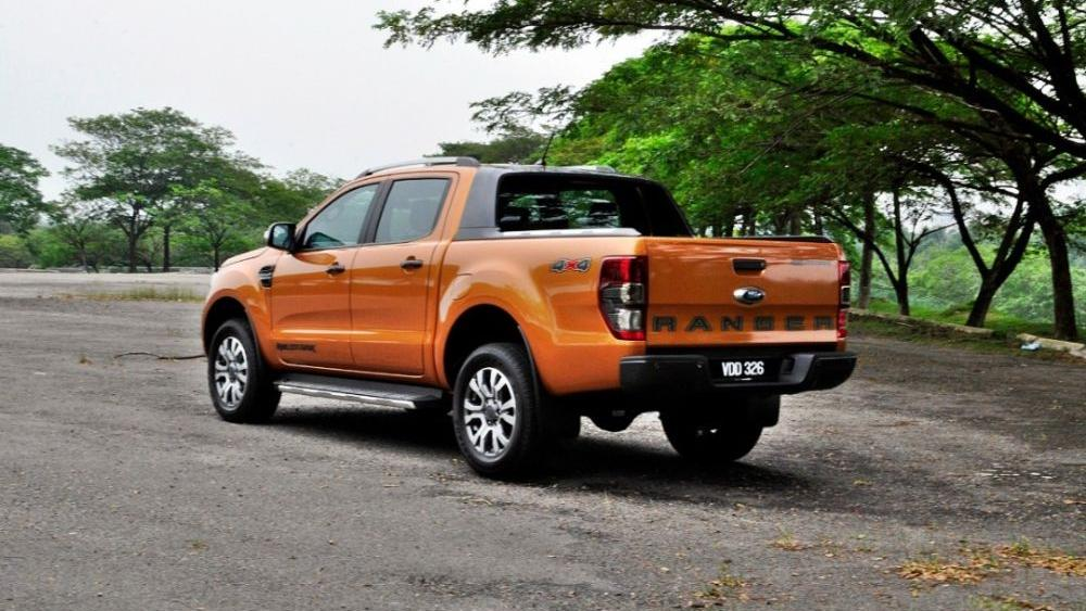 2018 Ford Ranger 2.0 Bi-Turbo WildTrak 4x4 (A) Exterior 007
