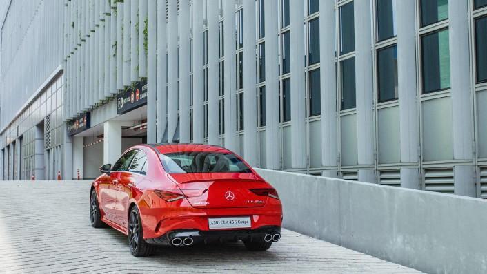 2020 Mercedes-Benz AMG CLA 45 S Exterior 008