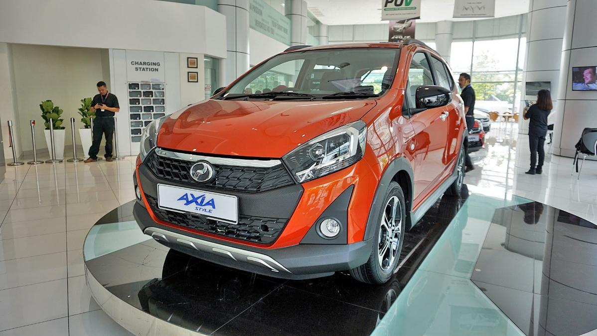 2019 Perodua Axia Style 1.0 AT Exterior 037