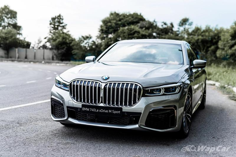 New 2021 G12 BMW 740 Le M Sport launched in Malaysia, priced at RM 623,800 02
