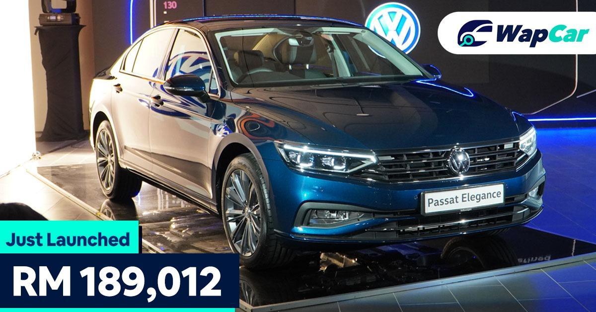 2020 Volkswage Passat facelift launch