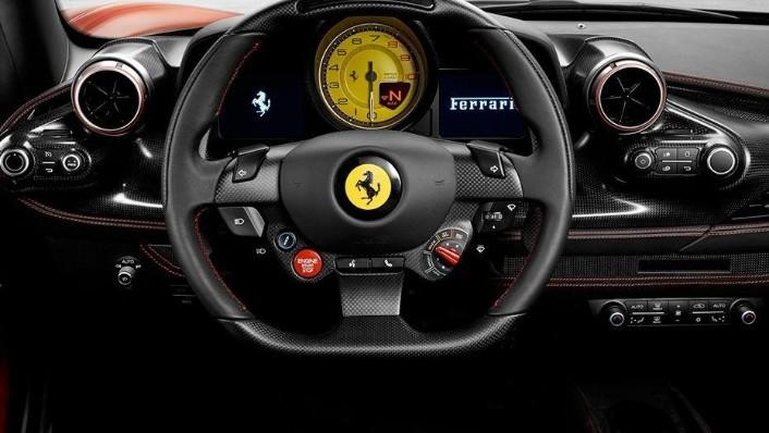 Ferrari F8 Tributo (2019) Interior 002