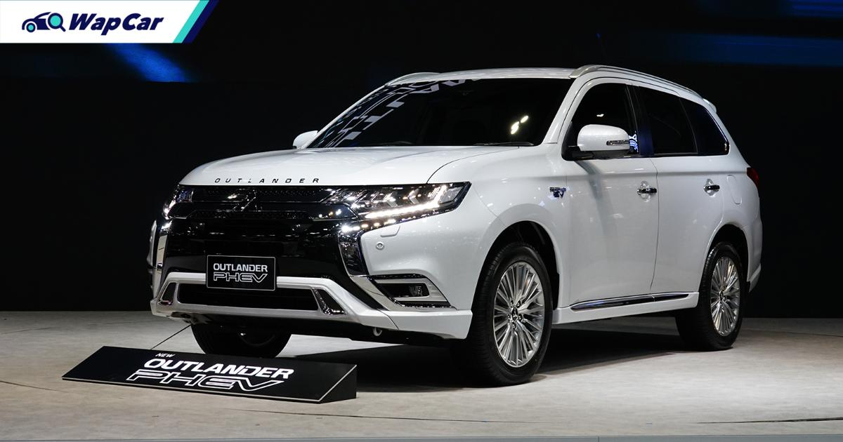 2021 mitsubishi outlander phev launched in thailand - to