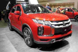 Let's take a closer look at the new Mitsubishi ASX
