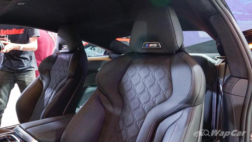 2020 BMW M850i xDrive Gran Coupe Interior 004