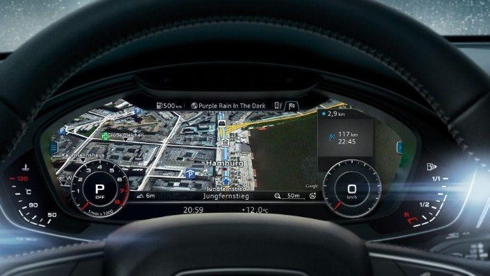 Audi A4 (2019) Interior 005