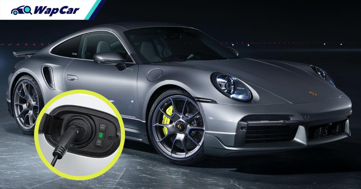 Porsche says no to full-electric Porsche 911, but a hybrid is possible 01