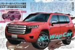 Ninja King for the new age, the all-new 2021 Toyota Land Cruiser 300 gets rendered