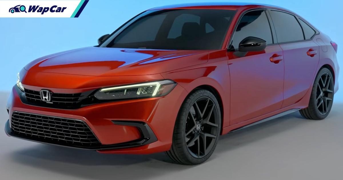 全新款2021 Honda Civic公布,大马将提前发售! 01
