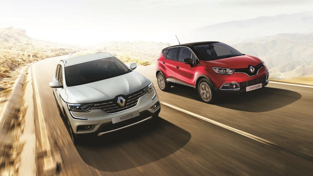 Renault Koleos and Captur subscription plan updated