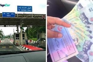 Bayaran keluar masuk Brunei 3 BND setiap satu bermula 1 Ogos 2020