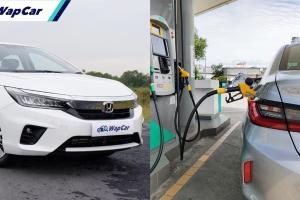 Honda City 1.5L V 2020 – betul ke save minyak kaw kaw?