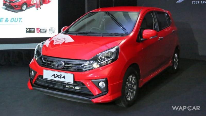 2019 Perodua Axia front