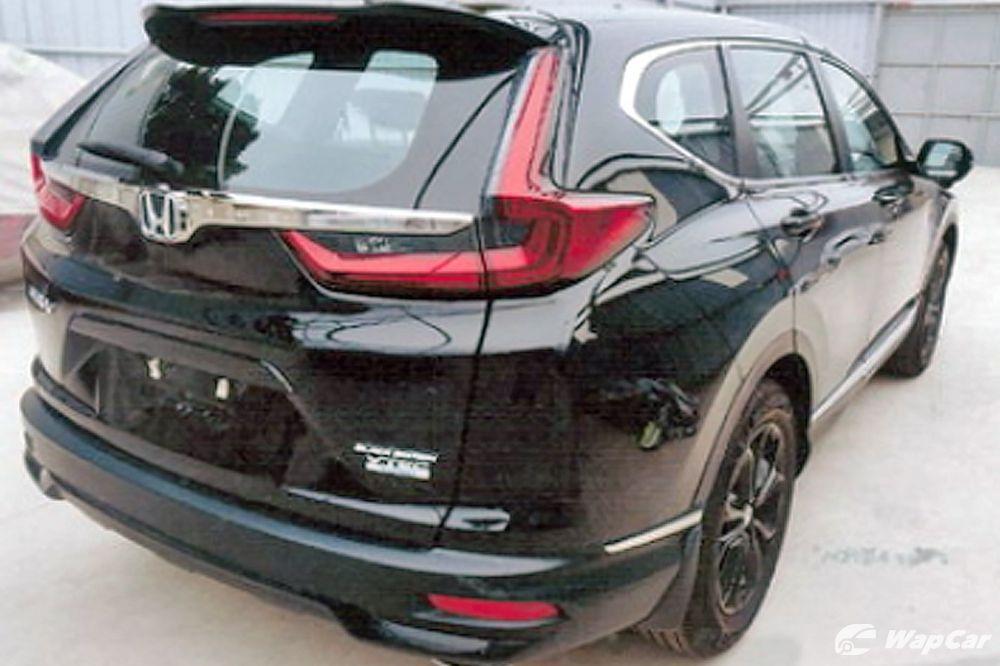 Intipan: Honda CR-V 2020 facelift baru dilihat di Vietnam ...