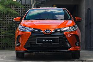 2021 Toyota Vios - What's the minimum salary to get a loan?
