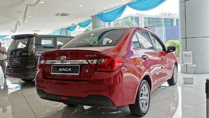2018 Proton Saga 1.3 Premium CVT Exterior 005