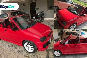Fancy a top-less Perodua Kancil? It's on sale!
