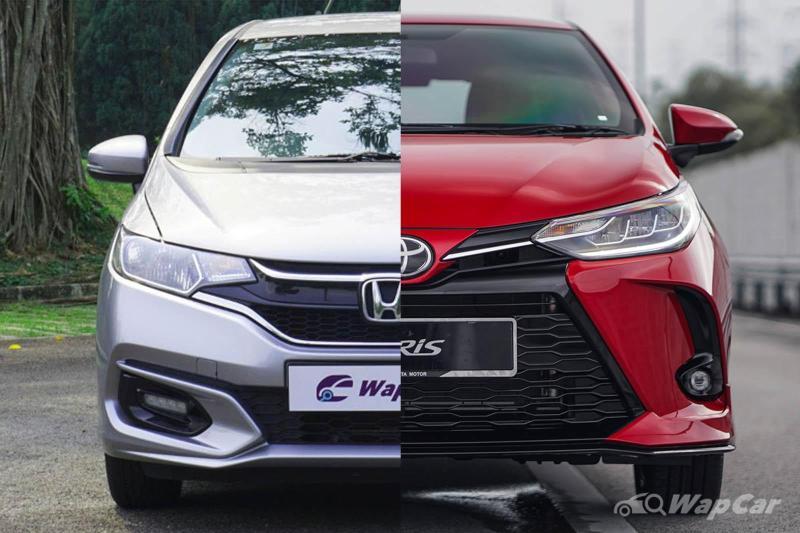 2021 Toyota Yaris vs Honda Jazz - Ageing Jazz still worth buying? 02