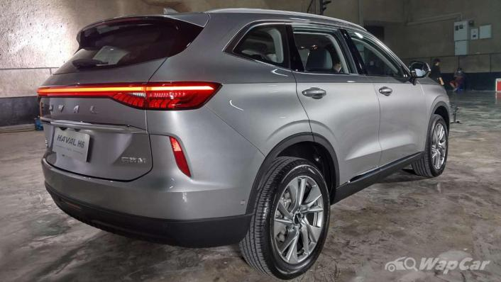 2021 Haval H6 Upcoming Version Exterior 003