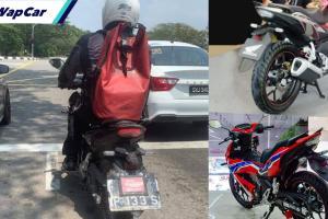 Honda Winner X (RS150 V3) terlihat di Malaysia. Tarikh pelancaran makin dekat?