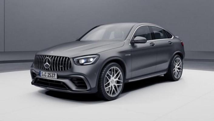 2018 Mercedes-Benz AMG GLC 300 Coupe AMG Line Exterior 001