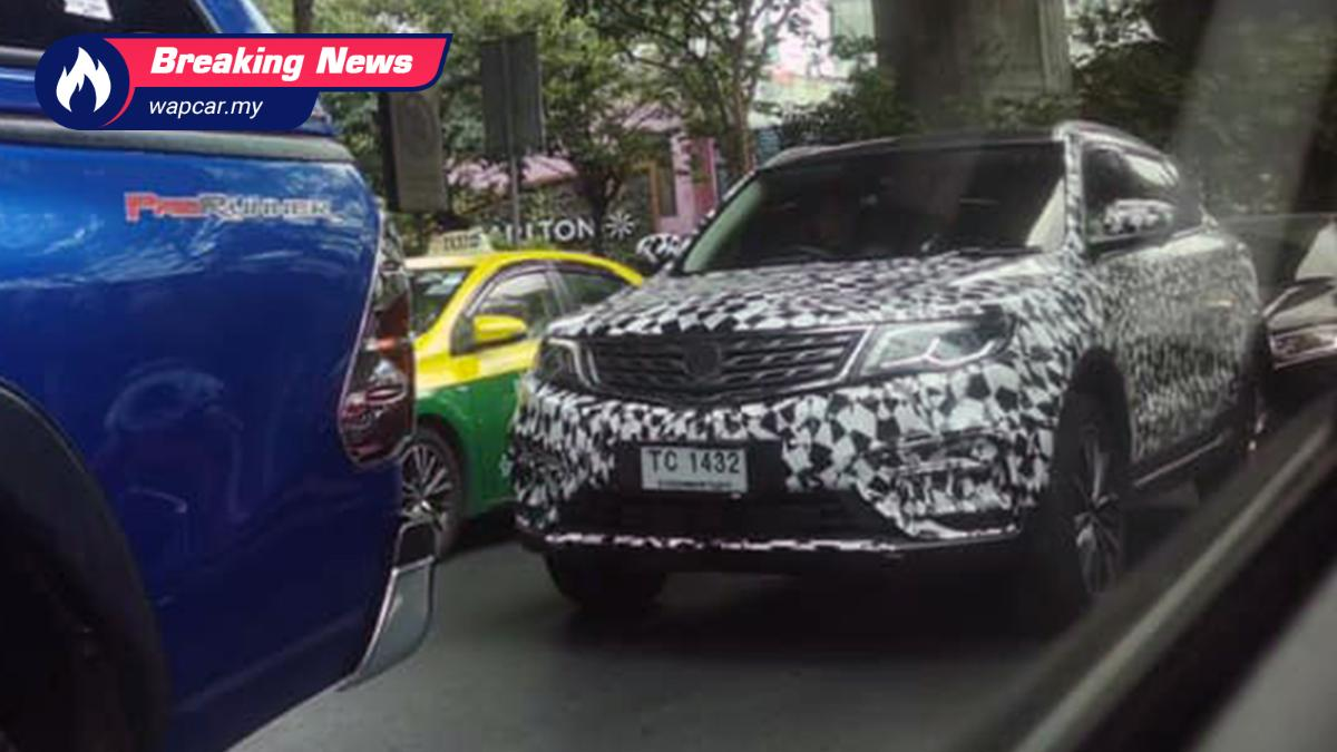 Spied: Proton X70 in Thailand, to get newer 1.5T engine than Malaysia's 01