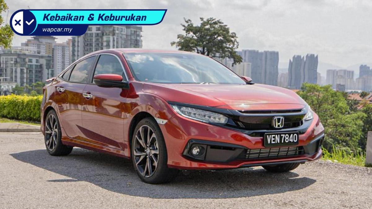 Honda Civic 1.5 TC-P 2020 - Power, luas, bergaya, selamat tapi apa kekurangannya? 01