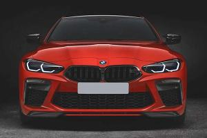 A German tuner 'fixed' the 2021 BMW M4's controversial grille