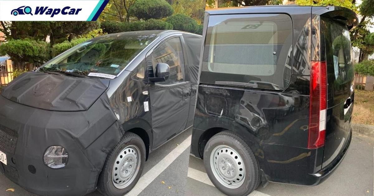 Spyshot Hyundai Grand Starex 2021, rekaan hadapan serba baru? 01