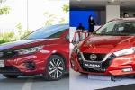 Honda City vs Nissan Almera: Perbandingan saiz dan fungsi keselamatan!