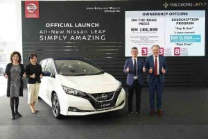 Second generation Nissan Leaf launched in Malaysia – RM 188,888