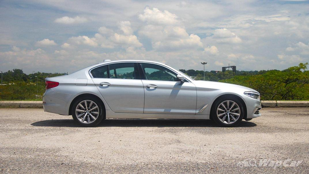 2019 BMW 5 Series 520i Luxury Exterior 004