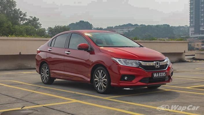 2018 Honda City 1.5 V Exterior 003