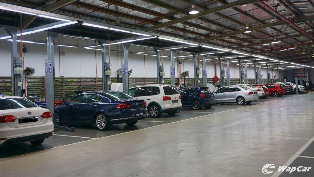 Volkswagen Malaysia service centre resumes operations