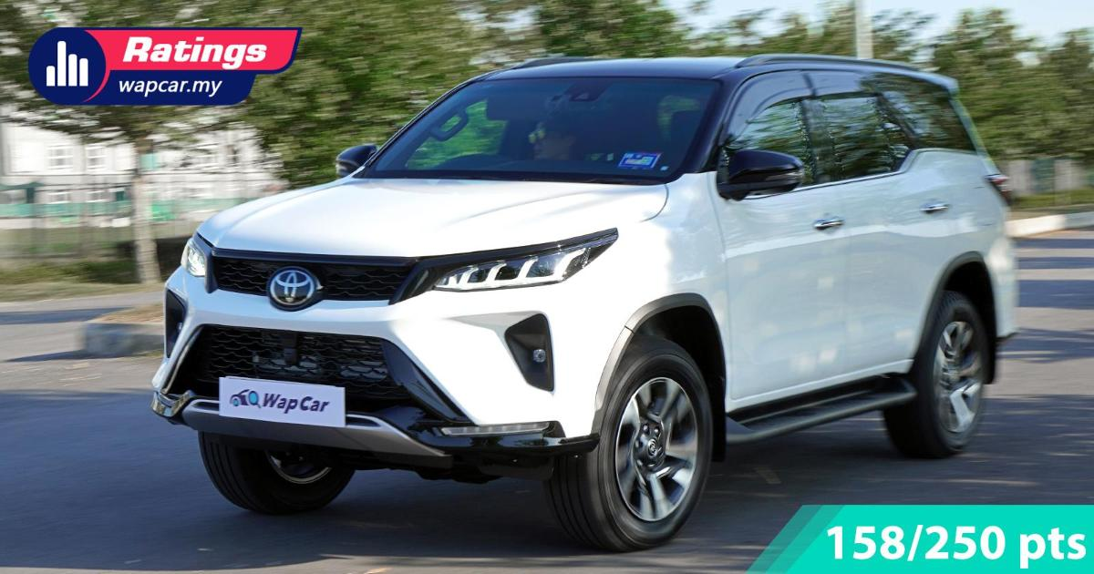 Ratings: 2021 Toyota Fortuner 2.8 VRZ – Decent in most aspects, except cost 01