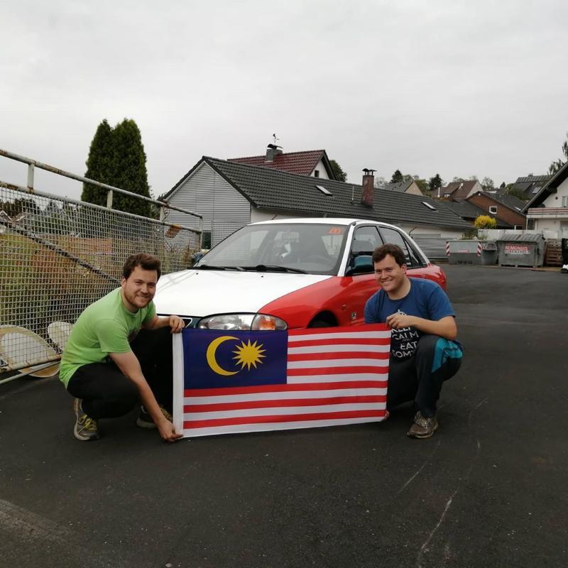 Proton Wira di litar Nurburgring. Jenama Malaysia jadi taruhan anak muda Belanda! 02
