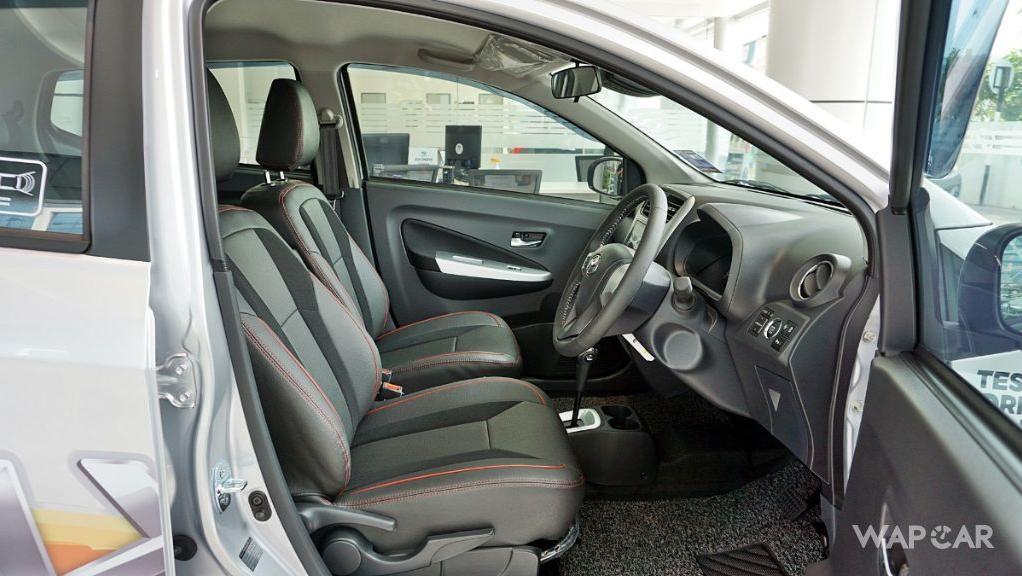 2019 Perodua Axia AV 1.0 AT Interior 062
