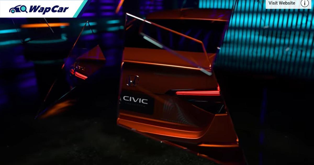 Honda Civic 2022 generasi baru prototaip akan didedahkan! Malaysia bakal terima awal? 01